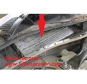 Buick Lacrosse Cabin Air Filter Location