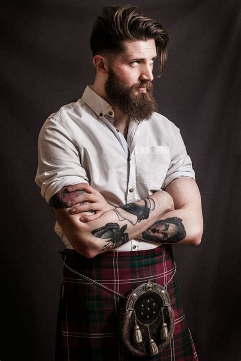 scotland 1760 men hairstyle plaited kilt beard google search beards pipes and cigars