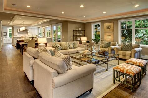 decorating open concept homes home decoration accessories create spacious floor plan