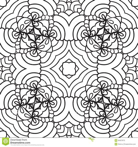 oriental pattern black and white black and white oriental pattern stock vector image