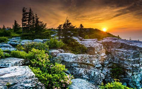 imagenes de paisajes naturales increibles scenery usa sunrises and sunsets stones west virginia fir