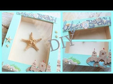 Beach Theme Decorating by Diy Room Apartment Decor Framed Starfish Beach Themed