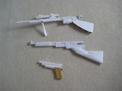Paper Guns - paper gun gallery all