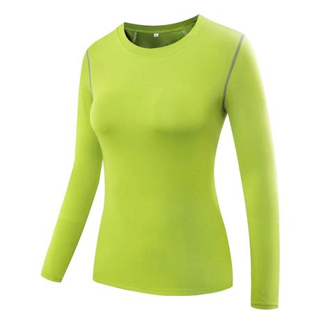 Fitness T Shirt Workout Compression Running Sleeves Tops compression base layer sleeve t shirt fitness