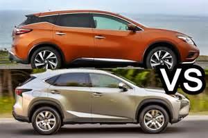 nissan murano vs lexus nx benim otomobilim 2015 nissan murano vs 2015 lexus nx