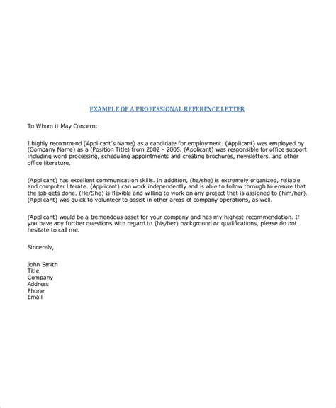 Recommendation Letter It Professional letter exles