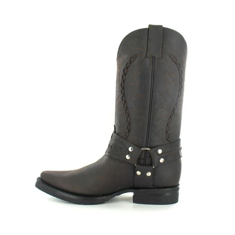 grinders 105 galveston mens leather cowboy boots in