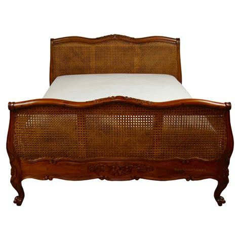 mahogany bed french louis mahogany rattan bed mahogany bedroom 163 575 00