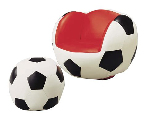 Soccer Chair And Ottoman Crown Sport Chairs 7004 Soccer Swivel Chair Ottoman Dunk Bright Furniture