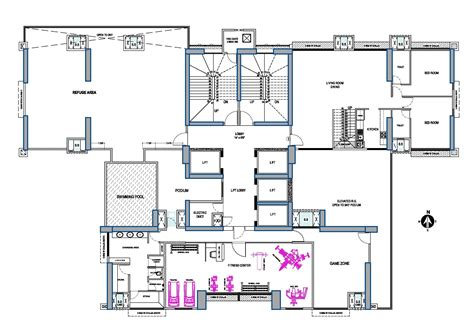 podium floor plan vora skyline