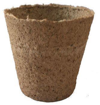 jiffy cm peat  fibre pots  holes