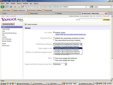 email yahoo at how to quickly make an empty yahoo mail inbox ateng go blog