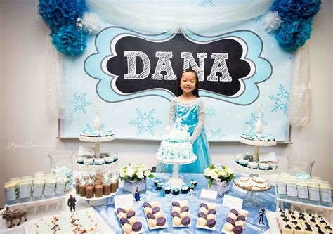 Outdoor Decoration Ideas dana s disney frozen party the dessert table life s