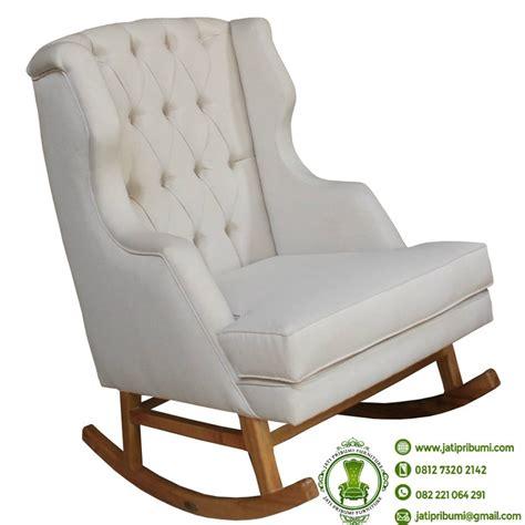 Kursi Goyang kursi sofa goyang model terbaru jati pribumi