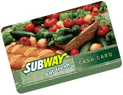 Check Subway Gift Card Balance - checking your subway gift card balance now is easy