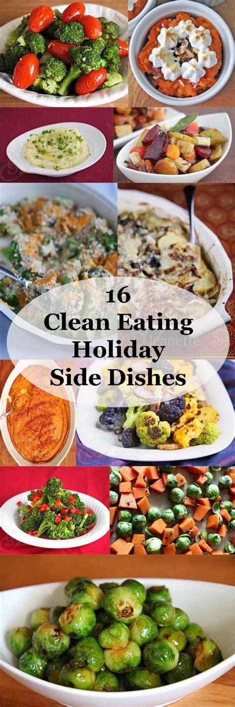 christmas side dish recipes eatingwell 16 clean eating holiday side dish recipes pinterest