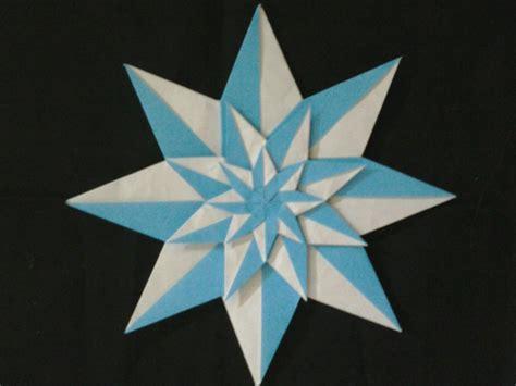Origami Fractal - origami harlequin fractal evan zodl folded by gail