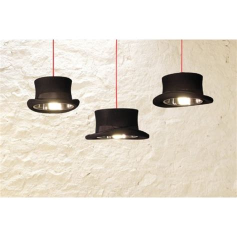 Ceiling Top Hat by Black Top Hat Ceiling Pendant Light Hanging On Black Cable