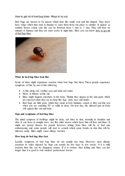 how to get rid of bed bug bites overnight how to get rid of bed bug bites