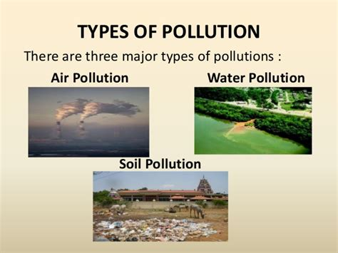 Types Of Environmental Pollution Essays by Three Types Of Pollution Essay Stonelonging Cf