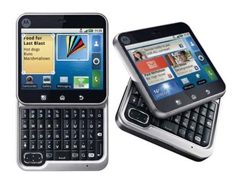Hp Motorola Android Qwerty 10 best qwerty android phones in india