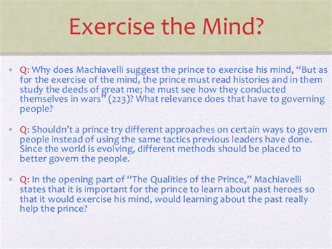 Machiavelli The Prince Essay by Machiavelli The Prince Essay The Gulf Between How One Should Live And How One Does Live Is So