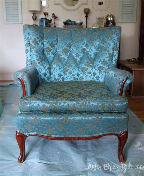 Thrifty French Chair Makeover (with Annie Sloan Chalk