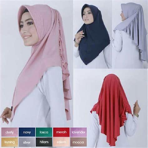 model hijab instan terbaru  tutorial hijab terbaru