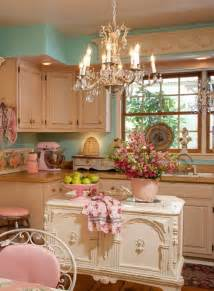 shabby chic kitchen in pastels panda s house