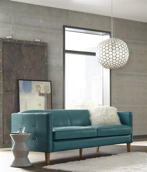 leather sofa miami miami teal leather sofa from lazzaro coleman furniture