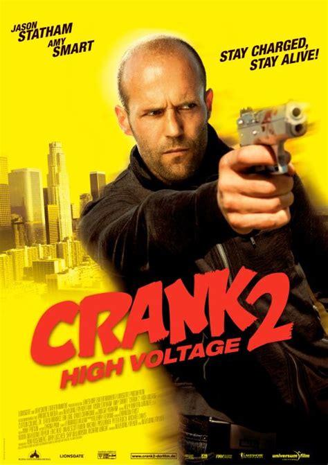 ultimo film di jason statham crank 2 high voltage nuovo spot tv e due locandine