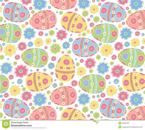 easter pattern easter pattern stock vector image of element flower