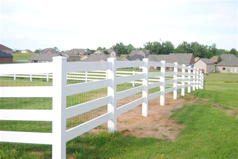 vinyl rail fence wire contemporary electrical and