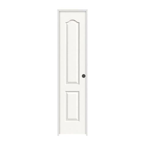 18 Inch Closet Door Home Fashion Technologies 18 In X 80 In 3 In Louver Louver White Pvc Composite Interior Bi
