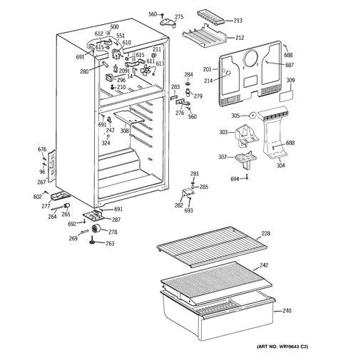 cabinet diagram parts list  model htrbbserww