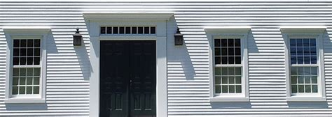 Saltbox Style Home windows amp doors colonial exterior trim and siding