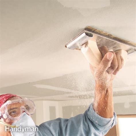 Best Sander For Ceilings by Drywall Sanding Tips And Techniques The Family Handyman