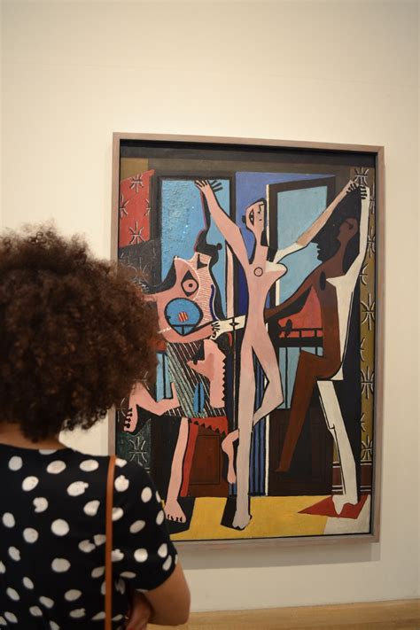 picasso paintings tate modern a polka dot midi dress in samio