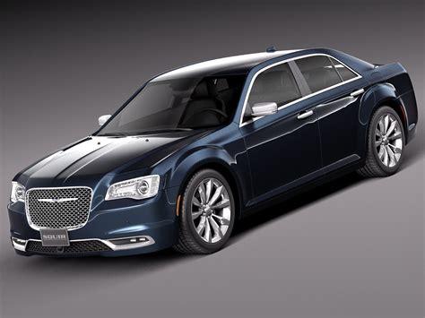 Chrysler 2015 Models by 2015 Chrysler 300 3d Model