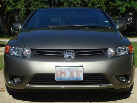 06 08 Honda Civic Coupe Clear Housing Oem Style Fog Lights