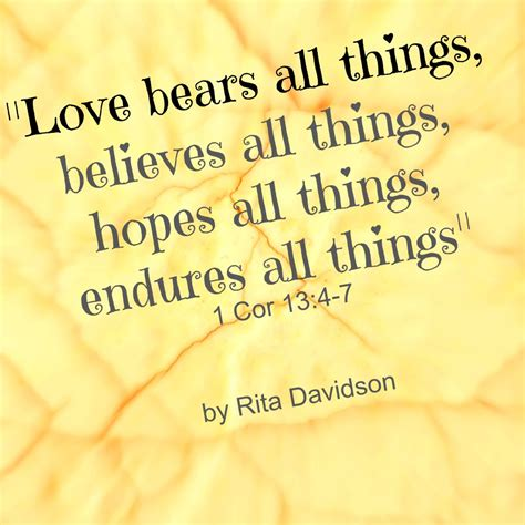 all stuff quot bears all things believes all things hopes all things endures all things
