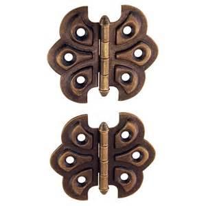 restorers classic surface mount steel ornamental butterfly