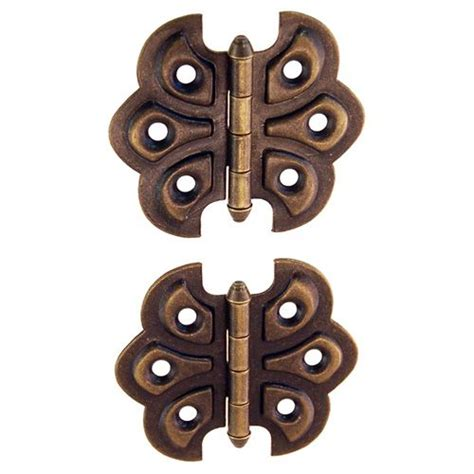 butterfly hinges for cabinets restorers classic surface mount steel ornamental butterfly hinge s restorers