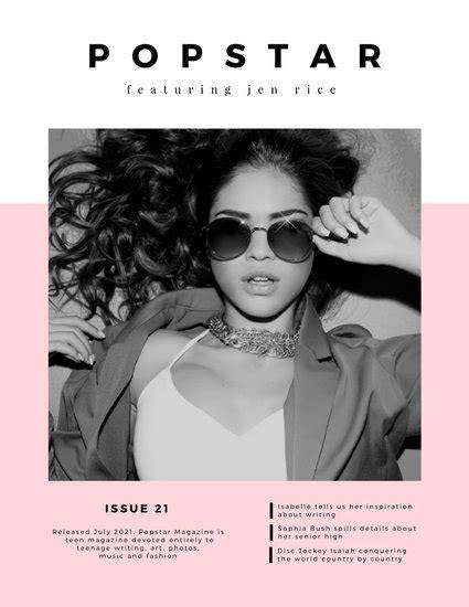canva magazine layout customize 75 fashion magazine cover templates online canva