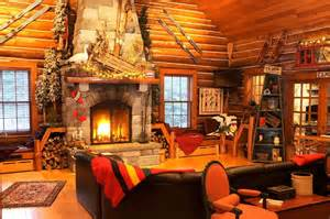 cozy interior design decor architecture theme tour a historic waterfront lodge on lake placid