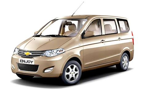 chevrolet cars prices chevrolet enjoy price in india images mileage features