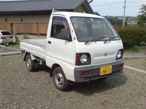 mitsubishi minicab truck mitsubishi minicab truck 4wd 1993 used for sale