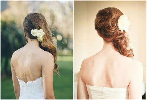 Bridal Hairstyles Side Swept With Veil by Side Swept Side Wedding Hair With Veil