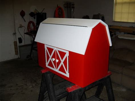 toy box barn plans  woodworking