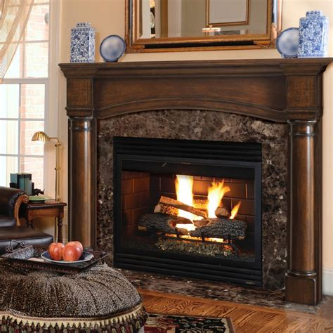 Princeton traditional full arched Fireplace Mantel. Pick